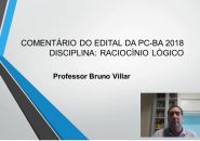 Professor Bruno Villar comenta edital do concurso PC/BA